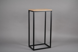 A045AY Wooden and metal stand 27cm x 39.5cm H80.5cm
