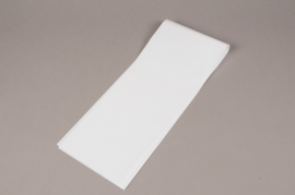 A046BD Pack of 100 white flower covers 16x80cm