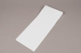A046BD Paquet 100 étuis à rose blanc 16x80cm