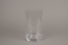 A046I0 Cylindric glass vase D14.5cm H25cm