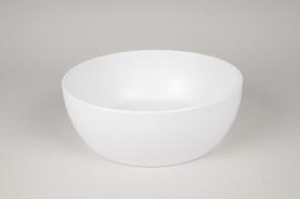 A047A8 Coupe en céramique blanc mat D30cm H11cm