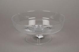 A049IH Glass stemmed bowl D24cm H10,5cm
