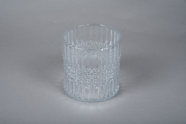 A050IH Glass candle jar D14.5cm H15cm