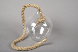 A050R4 Boule en verre à suspendre D15cm