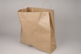A051AS Bag of 25 natural kraft bags 46cm x 46cm H48cm
