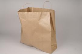A051AS Paquet de 25 sacs kraft naturel 46cm x 46cm H48cm