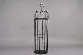 A051AY Black metal cage D30cm H109cm