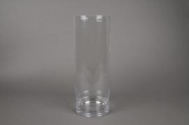 A051I0 Vase verre cylindre D15cm H40cm