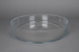 A051PQ Glass cylindrical bowl D35cm H7cm