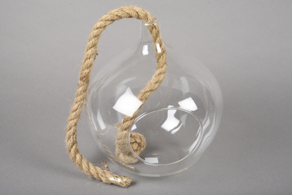 A051R4 Boule en verre à suspendre D20cm