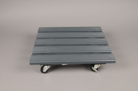 A051SF Wooden black roul'bac 40x40cm