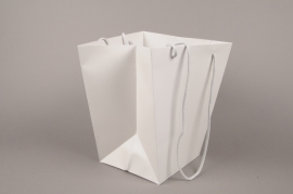 A052QX Pack of 10 holdall sand grey 25x25cm H29cm