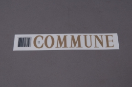 A054K4 Set  COMMUNE 33mm
