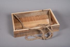 A055AY Wooden box  29.5cm x 45cm H8cm
