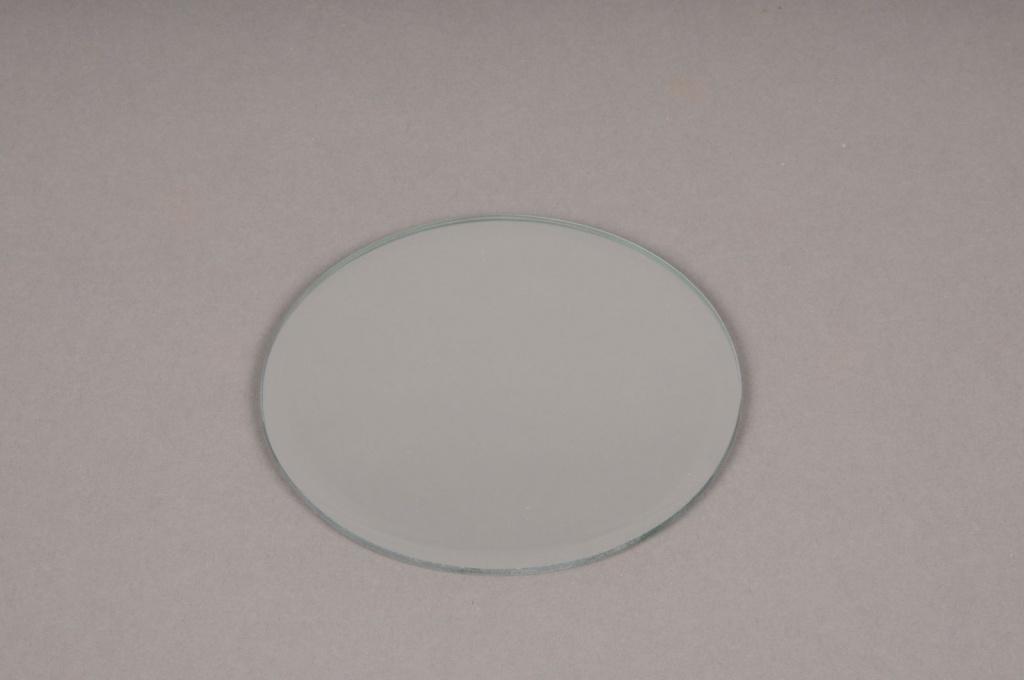 A055PM Support de bougie miroir D12cm