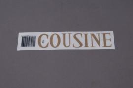 A056K4 Pochette COUSINE 33mm