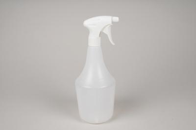 A059K7 Vaporisateur blanc transparent 1 litre