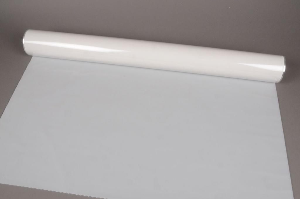 A059QX Rouleau de gaine cellophane blanc 80cmx50m