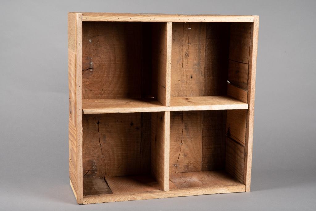 A060AY Etagère en bois naturel H50.5cm