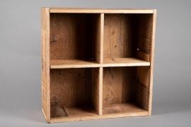 A060AY Natural wooden shelf H50.5cm
