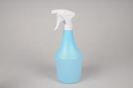 A060K7 Vaporisateur bleu transparent 1 litre