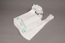 A060OR Paquet de 50 sacs plastique bretelle L31cm H39cm
