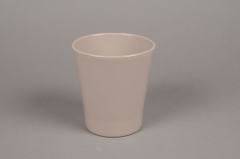 A060PP Planter ceramic Orchid grey D13cm H14cm