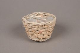 A062WV Tiny wicker basket D9cm H5.5cm