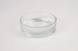 A063WV Glass bowl D12cm H4cm