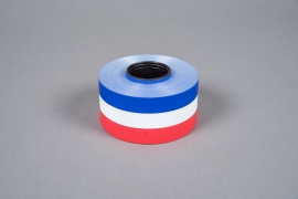 A064ZR French color bereavement ribbon 48mm x 50m