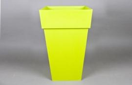 A066A6 Pot toscane zen vert 39cm x 39cm H65cm