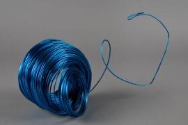 A066MG Fil en aluminium bleu D2mm L60m
