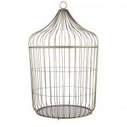 A069DQ Copper metal cage D32cm H49cm