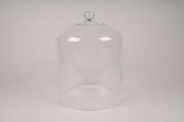 A071W3 Cloche en verre D28cm H39cm