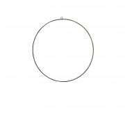 A077DQ Flat black metal circle 110 led D58cm
