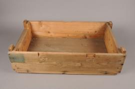 A078NM Wooden box 41cm x 68cm H19cm