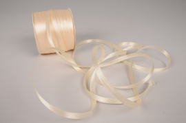 A079UN Satin ribbon white 6mmx100m