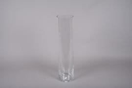 A080IH Glass cylinder vase D16cm H68cm