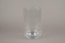 A080W3 Glass cylinder vase D18cm H28cm