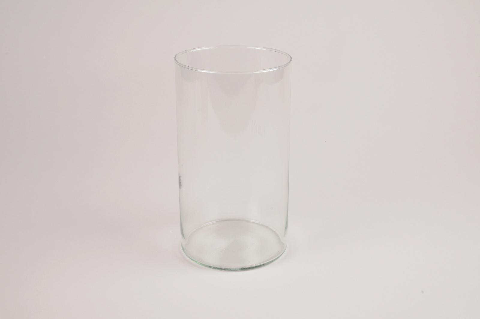 A081R4 Vase cylindre en verre D11cm H20cm