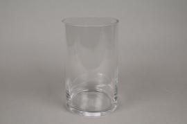 A083PQ Cylinder glass vase D15cm H30cm