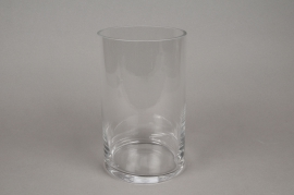 A083PQ Vase verre cylindre D15cm H30cm