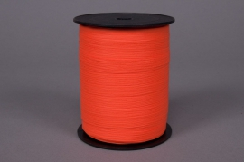 Curling ribbon orange matte 10mm x 250m