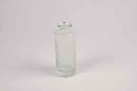 A087R4 Vase en verre D5cm H13cm