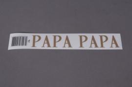 A088K4 Pochette PAPA 33mm