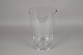 A094PQ Glass vase D23.5cm H40cm