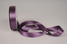 A094UN Ruban satin viole 26mmx20m