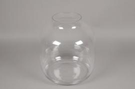A095PQ Vase en verre D34cm H38cm