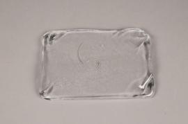 A095W3 Glass display tray 22x14cm