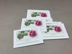 """A096MQ Paquet de 15 cartes """"Merci"""""""